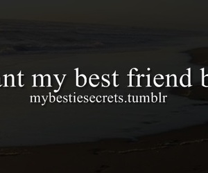 best friend, confession, and i want image