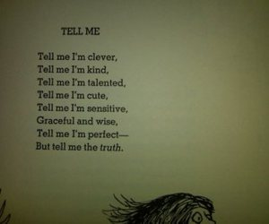 poem, tell me, and truth image