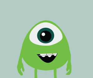 monsters university, cute, and green image