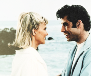 grease, movie, and old image