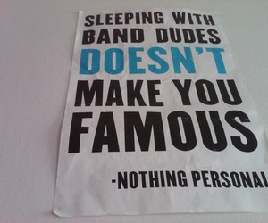 nothing personal, all time low, and famous image