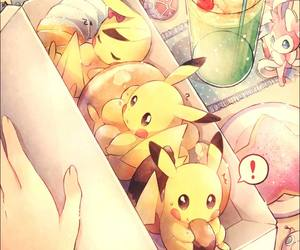 anime and pikachu image