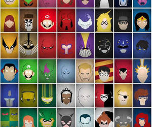 Marvel, DC, and superheroes image