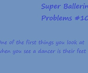 ballerina, ballet, and problems image