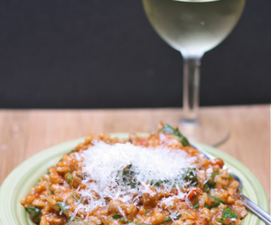 rice, tomato, and risotto image