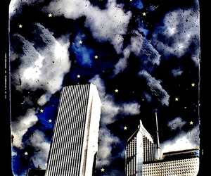 buildings, Dream, and stars image