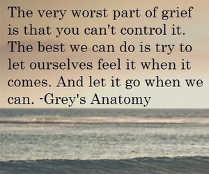 depressed, grief, and quote image