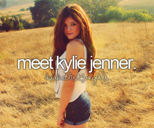 bucket list and kylie jenner image