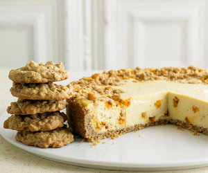 butterscotch, cake, and cheesecake image