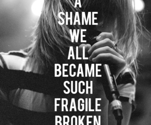 paramore, hayley williams, and broken image