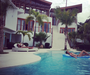 girl, house, and luxury image