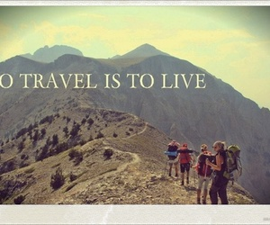 life, quote, and travel image