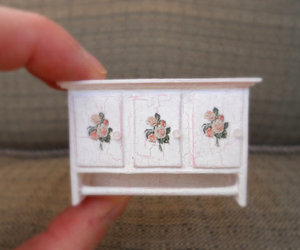 cabinet, dollhouse, and etsy image