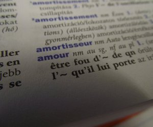 amour, french, and love image
