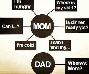 mom, dad, and true image