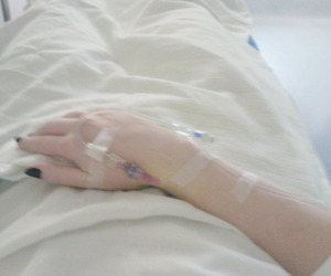 hospital and sick image