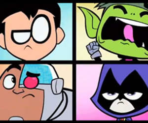 cartoon network, heroes, and raven image