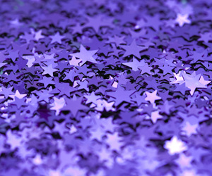 stars, purple, and glitter image