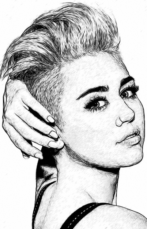 Drawing Of Miley Cyrus Discovered By Freckles