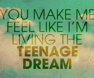 teenage dream, katy perry, and Dream image