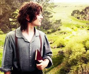 frodo, hobbit, and elijah wood image
