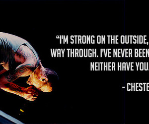 quotes, chester bennington, and linkin park image