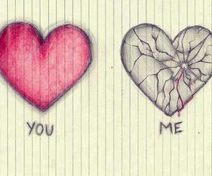 boy, hearts, and you image