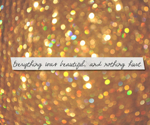 quotes, beautiful, and glitter image