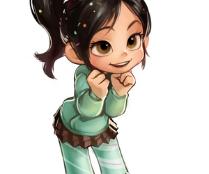 disney and vanellope image