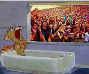 funny, Jerry, and beliebers image