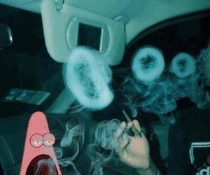 smoke, patrick, and weed image