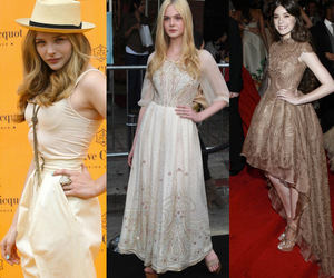 dress, Elle Fanning, and fashion image
