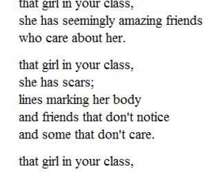girl, sad, and depression image