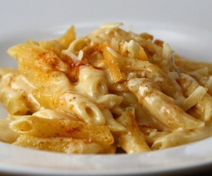 food, cheese, and pasta image