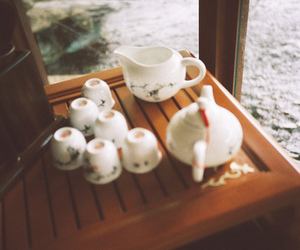 vintage, tea, and photography image