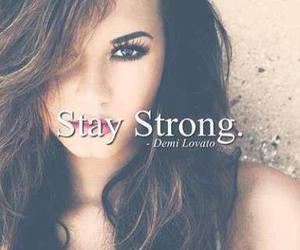 demi lovato, stay strong, and demi image