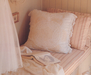 bed, book, and Dream image