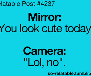 camera, mirror, and lol image