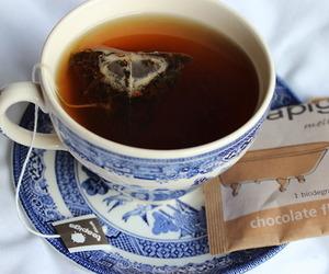 tea, chocolate, and drink image