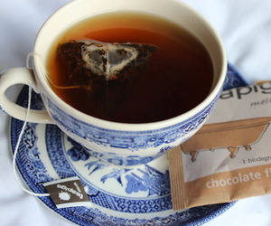 tea, chocolate, and drink image