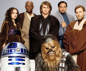 r2d2, star wars, and Anakin Skywalker image
