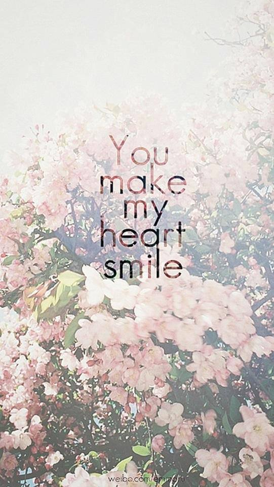 heart, smile, and you image