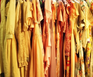dress, second hand, and dresses image