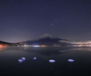 astronomy, swans, and japan image