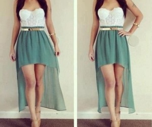 fashion, ^.^, and high low skirt image