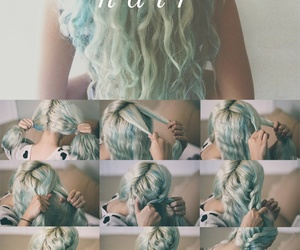 hair and mermaid image