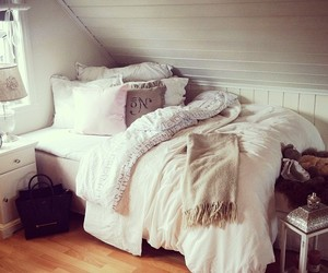 bed, design, and inspo image