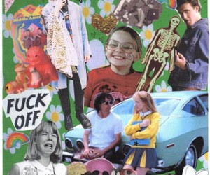 car, little miss sunshine, and Collage image