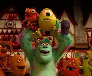 monster, pixar, and disney image