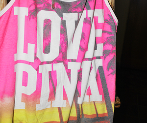 pink, summer, and love pink image